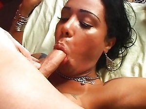 Beautiful tranny banged up the ass
